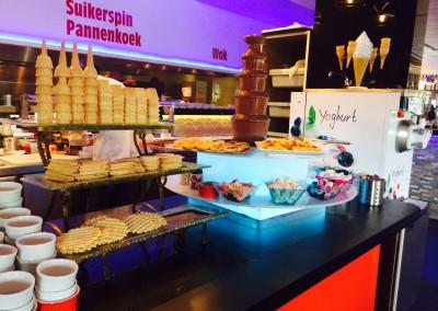foto voor 2.12 chocoladefontein en ijsbuffet